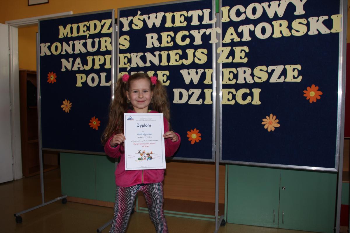 Konkurs Recytatorski Najpiękniejsze Polskie Wiersze Dla