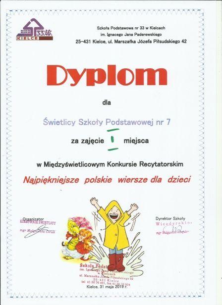 Najpiękniejsze Polskie Wiersze Szkoła Podstawowa Nr 7 Im